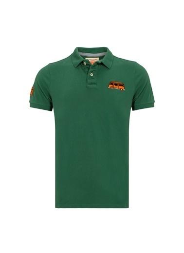 Routefield Tişört Yeşil